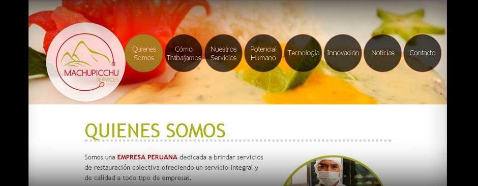 machu picchu services